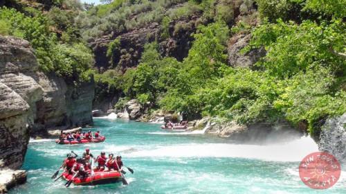 Алания сплав по реке Кепрючай