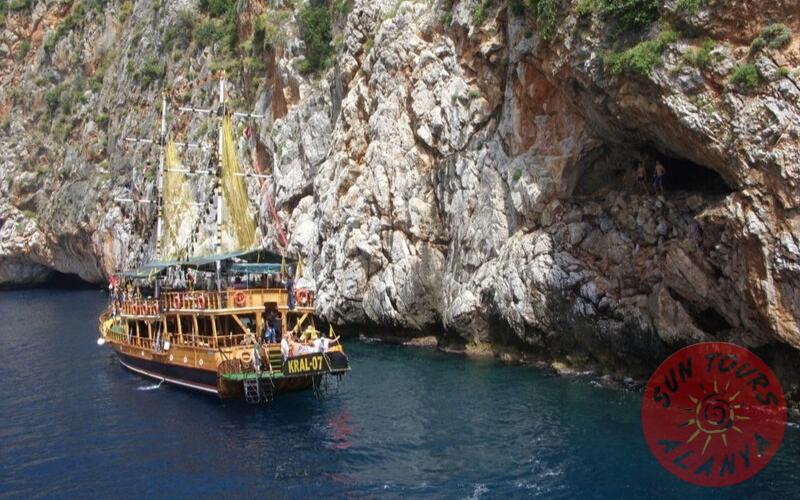 Морские пещеры Алании