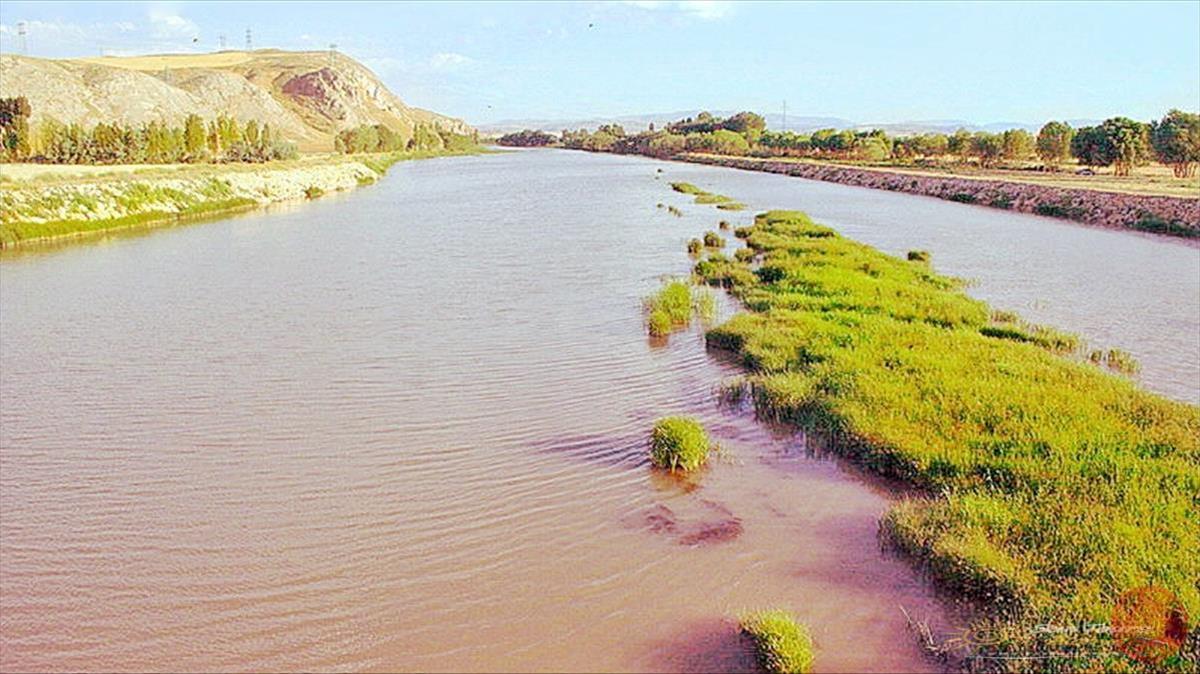 Река Кызылырмак Каппадокия