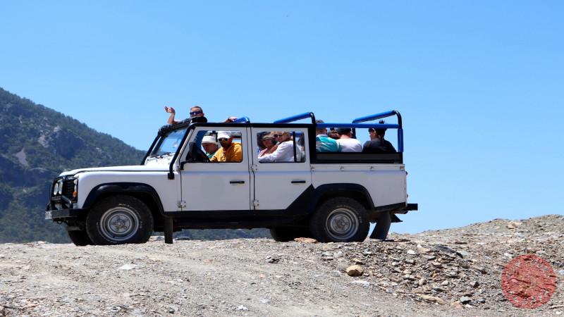 Джип-сафари в Алании