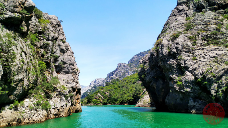 Зеленый каньон из Алании