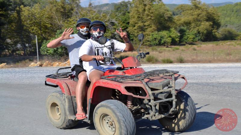 Сафари на квадроциклах в Алании