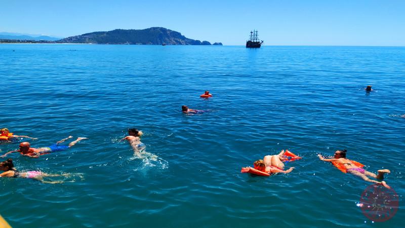 Морская прогулка в Алании - Катамаран