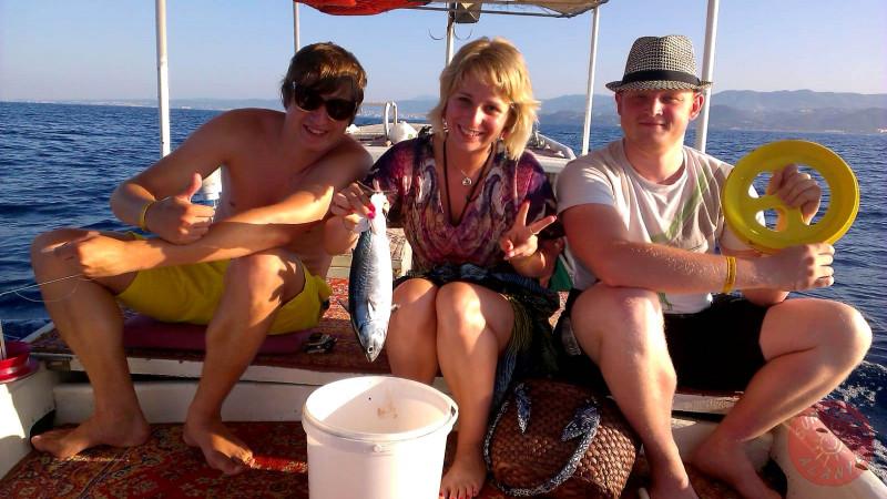 Морская рыбалка в Алании